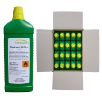 Palivo do biokrbu - Biolíh 100% - 20 litrů v litrových lahvích
