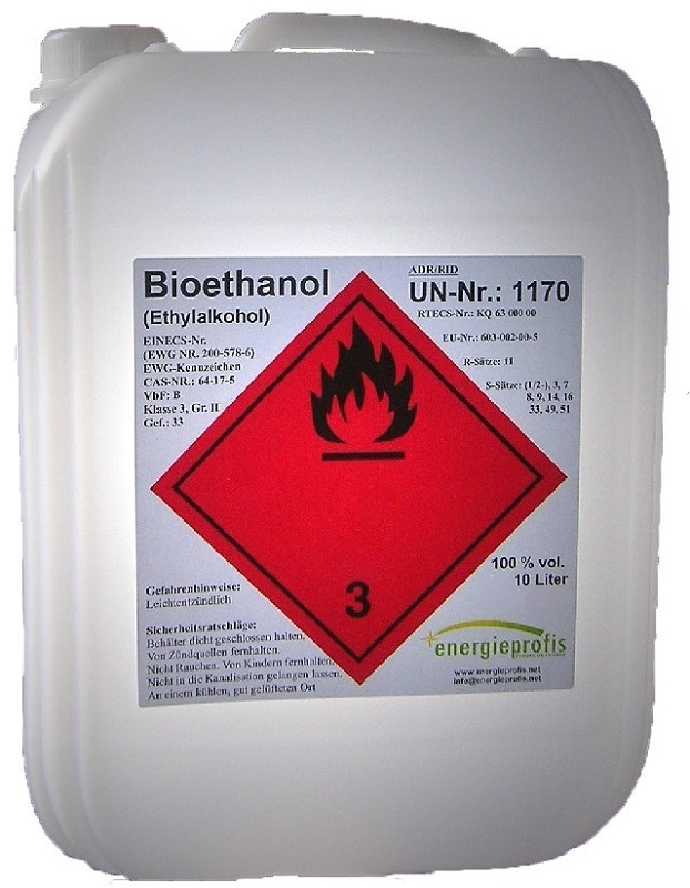 Palivo do biokrbu - Biolíh 100% - 20 litrů v kanystrech