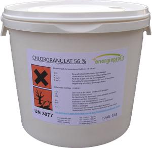 Profienergie.cz - Chlor šok granulát rychlorozpustný - 5kg